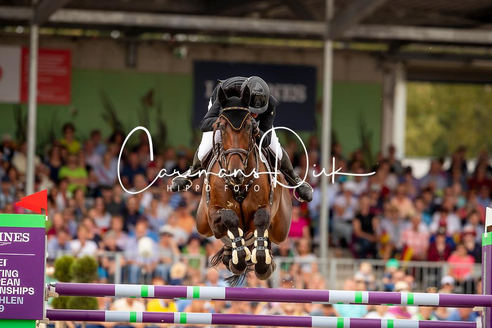 Kurbel Jorg, GER, Josera's Entertain You<br /> European Championship Eventing<br /> Luhmuhlen 2019<br /> © Hippo Foto - Dirk Caremans