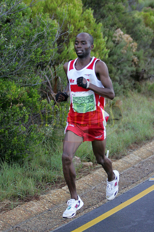 Tsepho Masebi during the 2010 Old Mutual 2 Oceans Ultra Marathon held in Cape Town, Western Cape, South Africa on the 3 April 2010.Photo by: Ron Gaunt/ SPORTZPICS