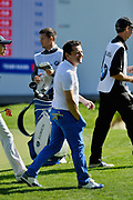 Chris Hollins during the BMW PGA Championship at Wentworth Club, Virginia Water, United Kingdom on 18 September 2019.