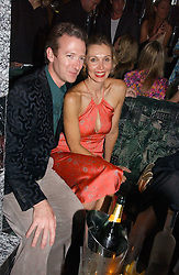 ASHLEY & ALLEGRA HICKS at a party hosted by Allegra Hicks and Melissa Del Bono to celebrate the opening of Volstead, Swallow Street, London W1 on 4th May 2006.<br /><br />NON EXCLUSIVE - WORLD RIGHTS