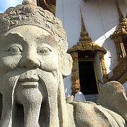Statue at Bangkok's Royal Palace