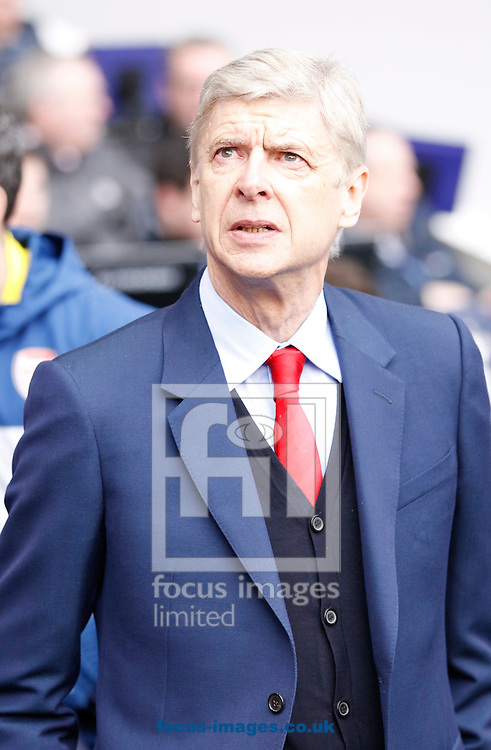 Arsenal manager Arsene Wenger during the Barclays Premier League match at White Hart Lane, London<br /> Picture by Andrew Tobin/Focus Images Ltd +44 7710 761829<br /> 07/02/2015