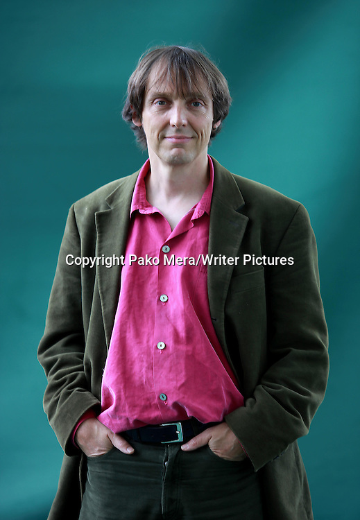 Philip Ball, English science writer, at the 2011 Edinburgh Book Festival, August 16, 2011.