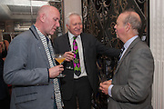 DAVID DIMBLEBY; IAN HISLOP, Juliet Nicolson - book launch party for  her latest novel Abdication, about British society after the death of George V.  The Gallery at The Westbury, 37 Conduit Street, Mayfair, London, 12 June 2012