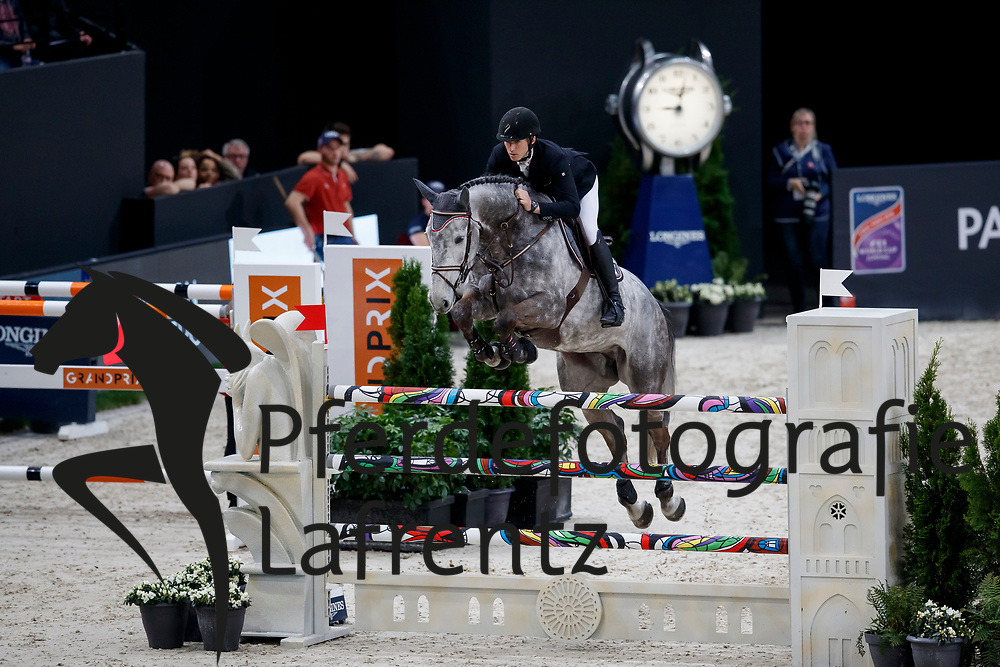 NERETNIEKS Kristaps (LAT), Cornet's Spirit<br /> Paris - FEI World Cup Finals 2018<br /> Grand Prix / Grosser Preis<br /> www.sportfotos-lafrentz.de/Stefan Lafrentz<br /> 15. April 2018
