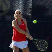 02 October 2015 - The San Diego State Aztecs women's tennis hosts the fall classic held on campus.