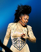 Singer Janet Jackson performs her 'Rock Witchu' tour at Madison Square Garden in New York City, USA on November 1, 2008.