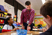 Memphis Teacher Residency resident, Brian Litvin of Acron, Ohio, lives in Memphis now where he is teaching his elementary school class. He is part of the Memphis Teacher Residency program and is teaching in the Memphis public school, Kingsbury Elementary.  When he is done he will have earned a masters degree in education.