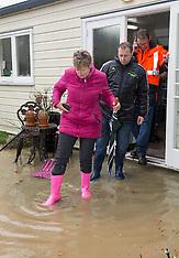 Christchurch-Flooding along Heathcote River