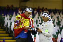 June 3, 2017 - Cardiff, Walles, United Kingdom - Real Madrid  fans during the UEFA Champions League -  Final match between Real Madrid and Juventus  at  National Wales Stadium in Cardiff, Wales on June 03, 2017  (Credit Image: © Kieran Galvin/NurPhoto via ZUMA Press)