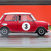 #3, Austin Mini Cooper S (1965), Robert Nyquist (SE), Silverstone Classic 2015, Warwick Banks Trophy for Under 2 Litre Touring Cars (U2TC). 24.07.2015. Silverstone, England, U.K.  Silverstone Classic 2015.