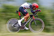 Fabio Aru (ITA - UAE Team Emirates) during the 101th Tour of Italy, Giro d'Italia 2018, stage 16, Trento - Rovereto 34.5 km on May 22, 2018 in Italy - Photo Luca Bettini / BettiniPhoto / ProSportsImages / DPPI