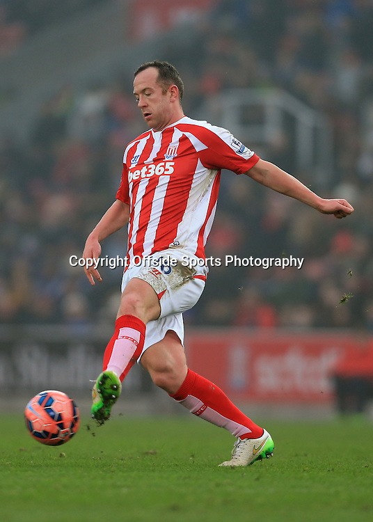 4th January 2015 - FA Cup - 3rd Round - Stoke City v Wrexham - Charlie Adam of Stoke - Photo: Simon Stacpoole / Offside.