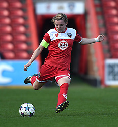 Bristol Academy's Grace McCatty - Photo mandatory by-line: Paul Knight/JMP - Mobile: 07966 386802 - 21/03/2015 - SPORT - Football - Bristol - Ashton Gate Stadium - Bristol Academy v FFC Frankfurt - UEFA Women's Champions League