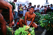 Banana Race, Tahitian fete, Papeete, Tahiti, French Polynesia