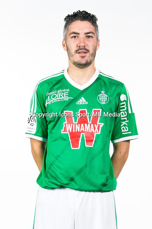 Fabien LEMOINE - 06.10.2014 - Portrait Officielle de Saint Etienne - Ligue 1<br /> Photo : Icon Sport