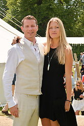 MR SEAN & LADY ALEXANDRA BRENNAN at the Cartier hosted Style et Lux at The Goodwood Festival of Speed at Goodwood House, West Sussex on 29th June 2014.