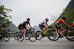 Hannah Barnes (GBR) on the climb at GREE Tour of Guangxi Women's WorldTour 2019 a 145.8 km road race in Guilin, China on October 22, 2019. Photo by Sean Robinson/velofocus.com