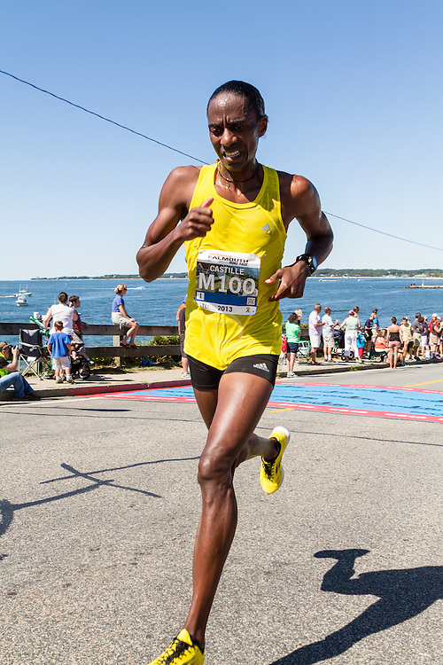 41st Falmouth Road Race: Kevin Castille, 41