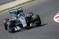 06 ROSBERG nico (ger) mercedes gp mgp w06 action during 2015 Formula 1 FIA world championship, Spain Grand Prix, at Barcelona Catalunya from May 8th to 10th. Photo Gregory Lenormand / DPPI