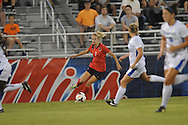 Ole Miss' Bethany Bunker (7) vs. Memphis in soccer action at the Ole Miss Soccer Stadium in Oxford, Miss. on Sunday, September 15, 2013. Ole Miss won 3-0.