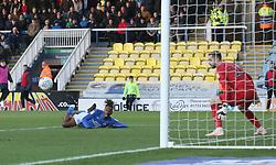 Ivan Toney of Peterborough United scores the opening goal of the game - Mandatory by-line: Joe Dent/JMP - 14/12/2019 - FOOTBALL - Weston Homes Stadium - Peterborough, England - Peterborough United v Bolton Wanderers - Sky Bet League One