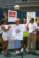 The 1996 Summer Olympics, known officially as the Games of the XXVI Olympiad and unofficially as the Centennial Olympics, was a major international multi-sport event that took place in Atlanta, Georgia, United States, from July 19 to August 4, 1996. A record 197 nations, all current IOC member nations, took part in the Games, comprising 10,318 athletes. The 1996 Summer Games were the first to be staged in a different year from the Winter Games. Atlanta became the fifth American city to host the Olympic Games and the third to hold a Summer Olympic Games.