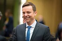 DEU, Deutschland, Germany, Berlin, 02.03.2018: Der neue saarländische Ministerpräsident Tobias Hans (CDU) vor einer Sitzung im Bundesrat.