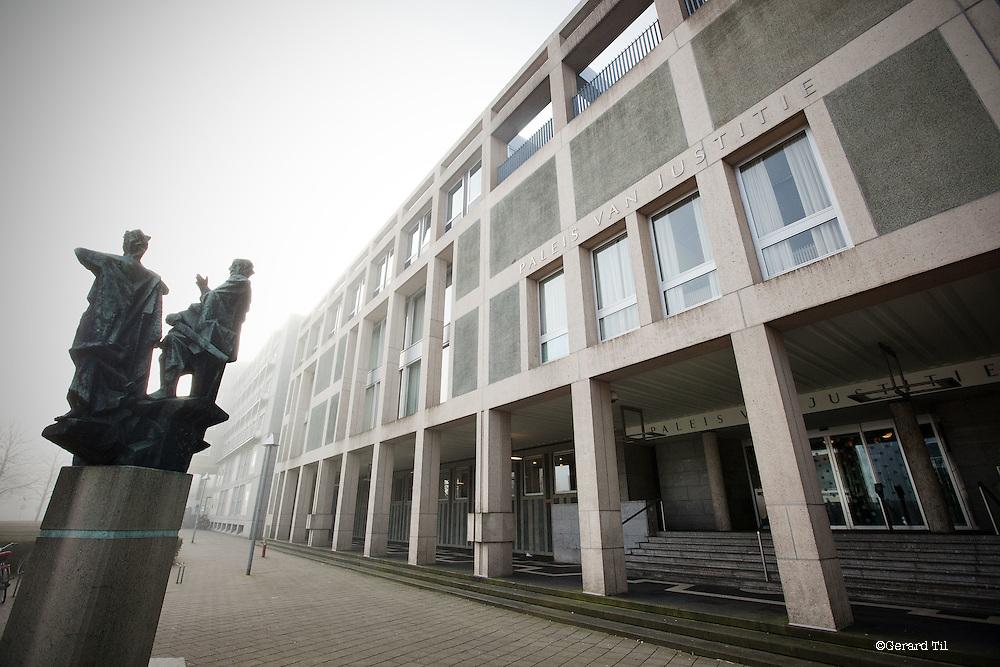 Nederland, Arnhem, 19-03-2012. paleis van Justitie .. FOTO: Gerard Til