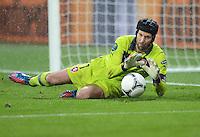 FUSSBALL  EUROPAMEISTERSCHAFT 2012   VORRUNDE Tschechien - Polen               16.06.2012 Torwart Petr Cech (Tschechische Republik)