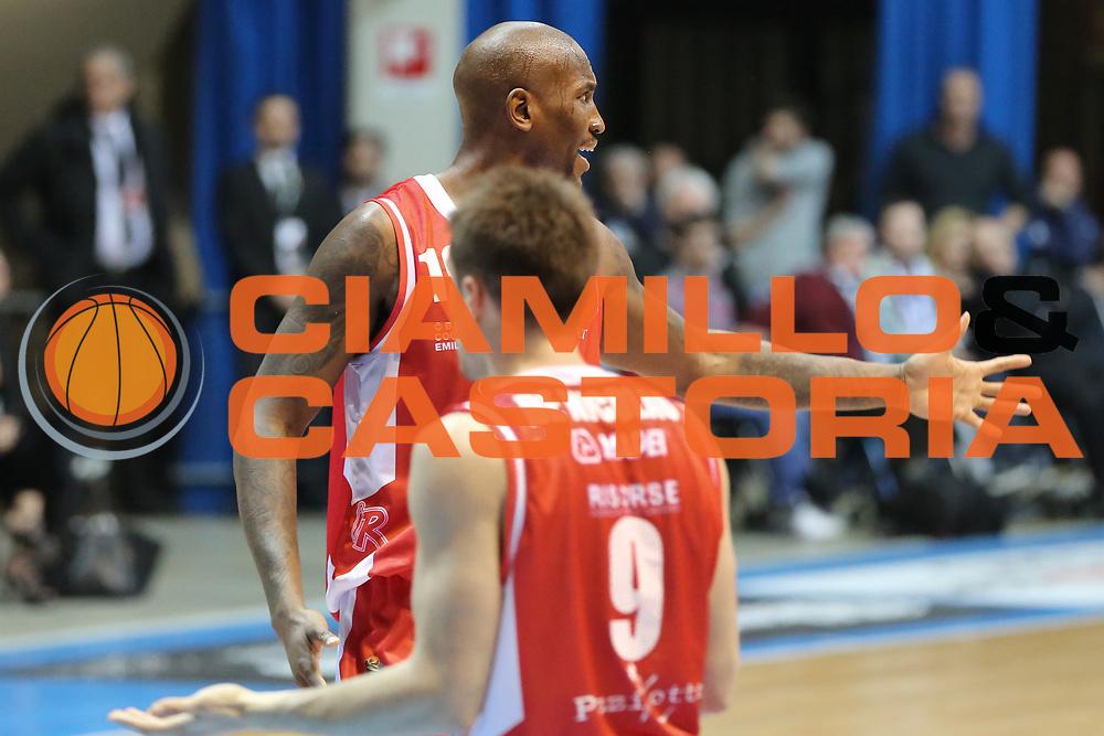Williams Jawad, Mia Cantù vs Grissin Bon Reggio Emilia LBA serie A 6^ giornata di ritorno stagione 2016/2017 PalaDesio 06/03/2017