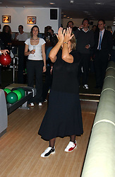 LADY ANNABEL GOLDSMITH at the opening party for a new bowling alley All Star Lanes, at Victoria House, Bloomsbury Place, London on 19th January 2006.<br /><br />NON EXCLUSIVE - WORLD RIGHTS