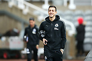 Joselu (#21) of Newcastle United arrives ahead of the Premier League match between Newcastle United and Southampton at St. James's Park, Newcastle, England on 10 March 2018. Picture by Craig Doyle.