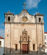 the church of Sao Joao de Almedina and the Museu nacional de Machado de Castro, Coimbra, Portugal,