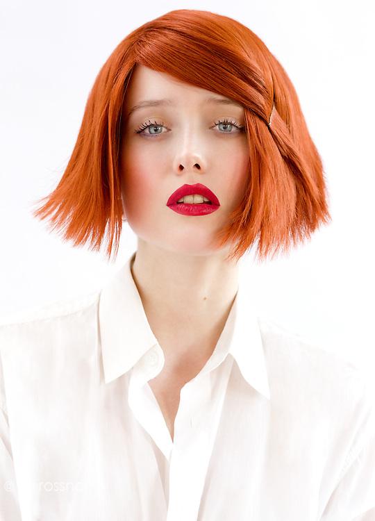 Model: Marie Hylmarova @ City<br /> MU&amp;H: Giordano Pierini @ Agence Carole