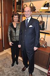 FULVIA VISCONTI FERRAGAMO and MICHELE NORSA at the Salvatore Ferragamo Old Bond Street Boutique Store Launch on 5th December 2012.