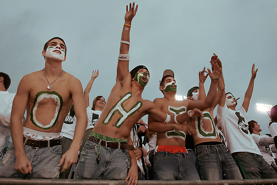 17803 Ohio Football Vs. Tennessee-Martin  Crowd photos by Katie Johnson