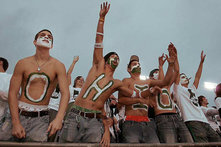 17803 Ohio Football Vs. Tennessee-Martin  Crowd photos by Katie Johnson