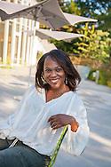 September 29, 2013. Portraits of Tonya Jenerette. Location: Brooklyn Botanic Gardens, BK, NY. Photographs by Margarita Corporan