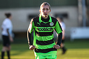 Forest Green Rovers Sian Towler(7) during the South West Womens Premier League match between Forest Greeen Rovers Ladies and Marine Academy Plymouth LFC at Slimbridge FC, United Kingdom on 5 November 2017. Photo by Shane Healey.
