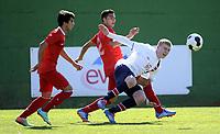 Fotball<br /> Landskamp G17<br /> Norge v Tyrkia / Norway v Turkey 0:2<br /> La Manga Spania <br /> 07.02.2014<br /> Foto: Morten Olsen/Digitalsport<br /> <br /> Henrik Rørvik Bjørdal  (17) - Aalesund / Norge<br /> Mehmet Zeki Celik (2) - Tyrkia