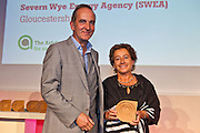 Kevin McCloud with Catrin Maby, Severn Wye Energy Agency