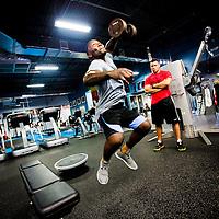 Anthony Rumble Johnson UFC 187 training