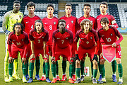 Portugal Team ahead of the U17 European Championships match between Portugal and Scotland at Simple Digital Arena, Paisley, Scotland on 20 March 2019.