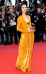 Liu Wen attending the Solo: A Star Wars Story premiere at the 71st Cannes Film Festival