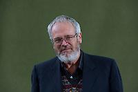 Andrew Greig<br /> Edinburgh International Book Festival 2014 photos taken in Charlotte Square Gardens. Edinburgh. Pako Mera 11/08/2014