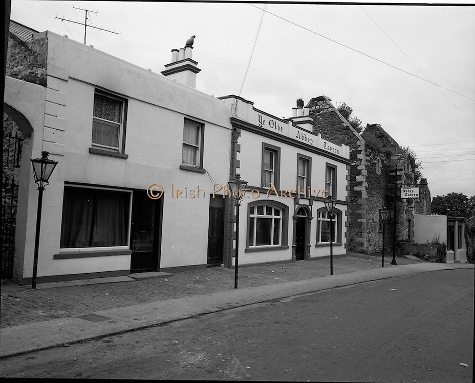 01/07/1969<br /> 07/01/1969<br /> 01 July 1969<br /> Pubs in and about Dublin. Ye Olde Abbey Tavern, 28 Abbey St., Howth, Dublin 13