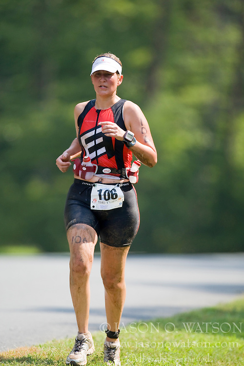 CHARLOTTESVILLE, VA - July 27, 2008 - BETHANY LUKITSCH in The 2008 Charlottesville International Triathlon was held at Walnut Creek Park in Albemarle County near Charlottesville, Virginia, USA.