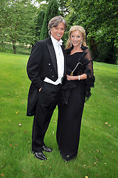 RICHARD & JACKIE CARING at the Raisa Gorbachev Foundation fourth annual fundraising gala dinner held at Stud House, Hampton Court, Surrey on 6th June 2009.