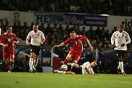 Wales U21's v England U21's, UEFA under 21 championship play off match, 1st leg at Ninian Park in Cardiff on Friday 10th October 2008